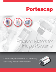 Motors for Infusion Systems Brochure