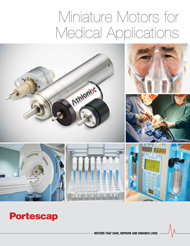 Motors for Medical Applications Brochure